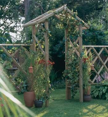 Forest Rose Arch
