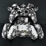 Xbox ONE Hydro-dipped White Skulls Full Replacement Controller Shell