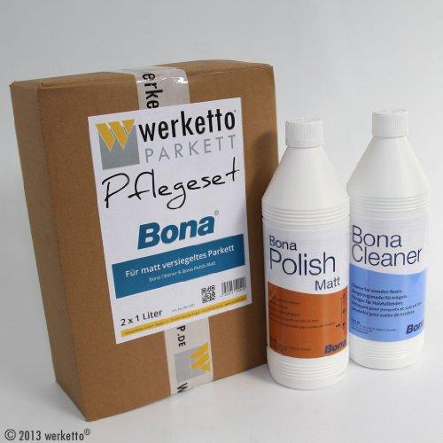 werketto-pflegeset-bona-cleaner-polish-matt