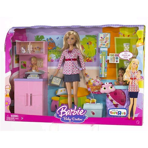 Barbie I Can Be Baby Doctor