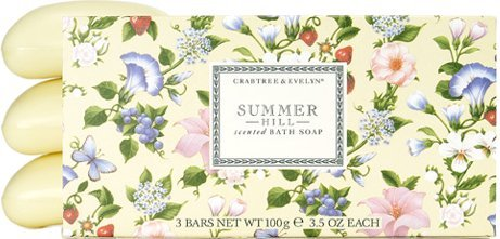 Crabtree & Evelyn Summer Hill - Triple-Milled Soap