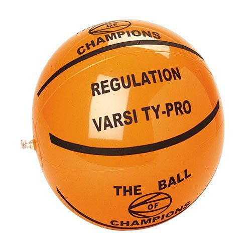 "One Inflatable Basketball Theme Beach Ball - 16"" - 1"