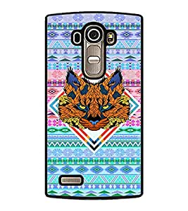PRINTVISA Abstract Tiger Case Cover for LG G4