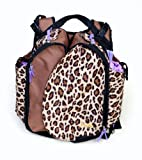 Boogaloo Leopard Diaper Bag