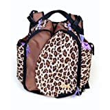 Boogaloo Leopard Diaper Bag ~ Boogaloo