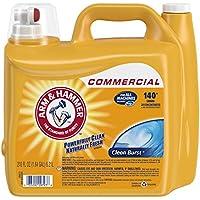 2-Pack Arm & Hammer 210oz Dual HE Clean-Burst Liquid Laundry Detergent