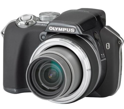 Olympus SP-550 Ultra Zoom Digital Camera - Anthracite (7.1MP, 18x Optical Zoom) 2.5