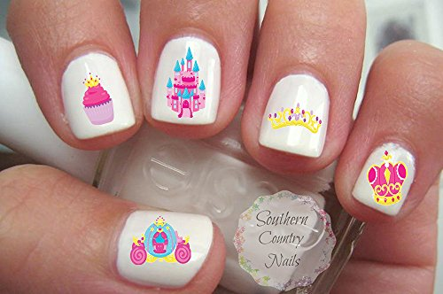 Fairytale Princess Nail Art Decals (Southern Princess Decal compare prices)