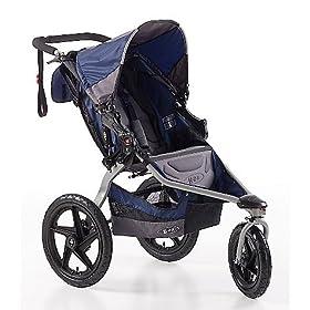 (大降)BOB Revolution SE Single Stroller儿童手推车,黑色,300.04刀