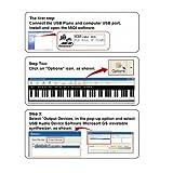 Docooler USB Midi Flexible Roll Up Piano 88 Keys Electronic Silicon Keyboard Portable