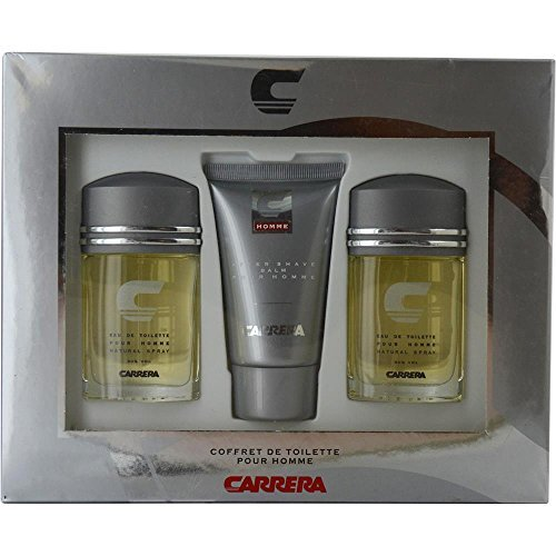 CARRERA by Muelhens EDT SPRAY 1 OZ (TWO PIECES) & AFTERSHAVE BALM 2.5 OZ for MEN --- by Carrera