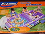 Banzai drinking water Slide:Banzai Bazoom water Play Sandbox