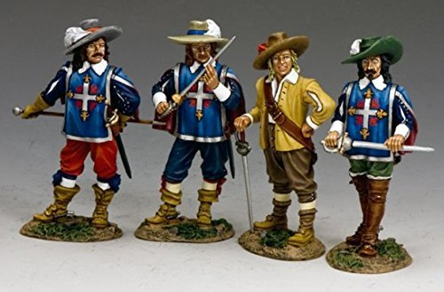 king-country-pnm032-the-3-musketeers-dartagnan-by-king-country
