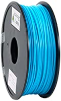 eSun PLA 3D Printer Filament, 3 mm Diameter, 1 kg Spool, Light Blue by Shenzhen Esun Industrial Co., Ltd.