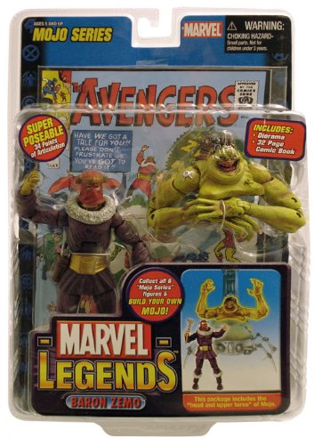 Marvel Legends Series 14 Action Figure Baron Zemo (Marvel Legends Baron compare prices)