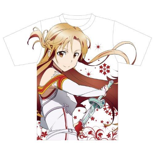 ソードアート・オンライン アスナフルグラフィックTシャツ Lサイズ