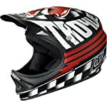 Troy Lee Designs Ace D2 Composite Bike Sports BMX Helmet - Matte Black / X-Large/2X-Large