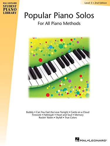 Popular Piano Solos, Level 3: For All Piano Methods (Hal Leonard Student Piano Library)