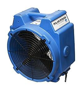B-AIR POLAR 1/4HP BLUE, Polar Axial Air Mover, 1/4 hp, Blue
