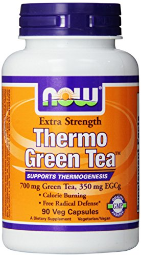 Now Foods Thermo Green Tea Veg Capsules, 90 Count (Now Energy Capsules compare prices)