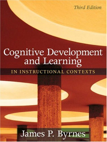 Cognitive Development and Learning in Instructional...