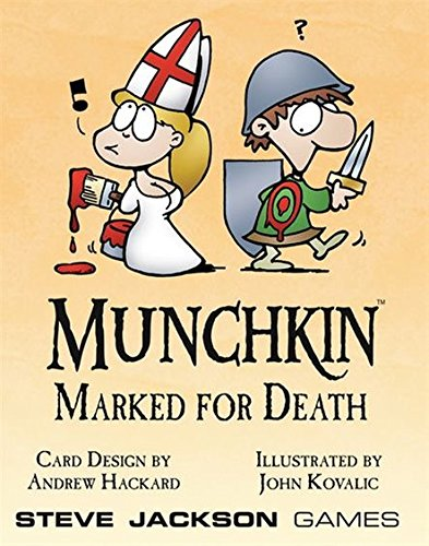 Munchkin Marked for Death 17-Card Add-on Set