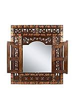 COLONIAL CHIC Espejo de Pared Batik