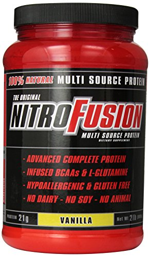 Plant Fusion Nitro Fusion Supplement, Vanilla, 2 Pound