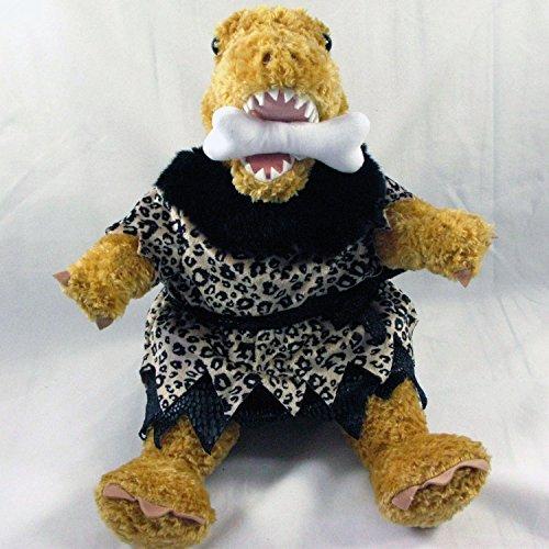 Build A Bear Dinosaur Tyrannosaurus Rex Dino Plush in Caveman Leopard Print Costume Bone Accessory and Roar Dino Sound 18 inch (Build A Bear Dino compare prices)