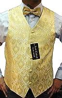 hommes qualité paisley le gilet et des nouveaux hommes bow tie mis en 5 couleurs différentes(paisley waistcoat)