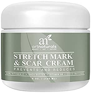 Remove, Decrease & Prevent New / Old Stretch Marks & Scars - Made in
