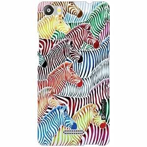 Micromax Canvas 5 E481 Back Cover - Silicon Horse Designer Cases