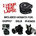 The Accessory Pro® Flow-Mow 2 Hour Timelapse compatible with all GoPro® / DSLR / Cell Phone with Tripod and Phone Mount