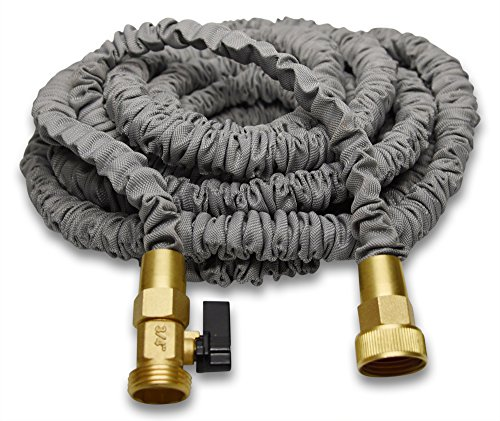 expanding garden hose. Best 100\u0027 Expanding Hose By (Titan), Strongest Expandable Garden In The World. Solid Brass Connectors, Double Layer Latex Core, Extra Strength Fabric,