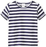 Zutano Little Boys' Primary Stripe Short Sleeve T Shirt