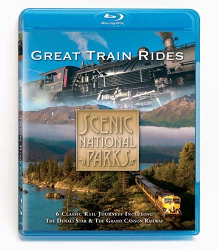 Scenic National Parks: Great Train Rides [Blu-ray]