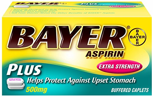 (Pack of 3) Bayer Extra Strength Plus Caplets, 500 mg, 50 count (Bayer Extra Strength compare prices)