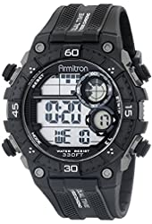 Armitron Sport Men's 40/8331BLK Digital Chronograph Black Resin Strap Watch