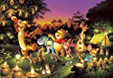 2000ピース 森のキャンドルパーティー<光るジグソー> D-2000-527