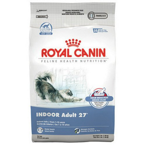 Royal Canin Indoor Adult Dry Cat Food 3 lb