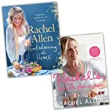 Rachel Allen Rachel Allen Food and Coockery 2 Books Recipes Collection Pack Set (Rachel's Favourite Food at Home, Entertaining At Home)