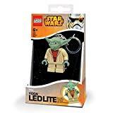 Lego - Lg0ke11 - Jeu De Construction - Porte Clé Led - Star Wars - Maitre Yoda