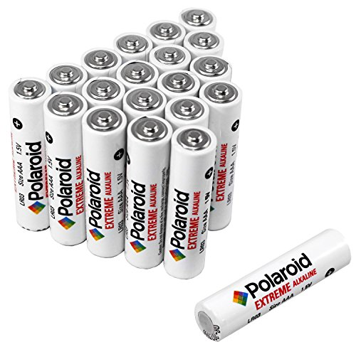 Polaroid AAA Extreme Performance Alkaline Batteries (20-Pack) 1.5 Volt (Amazon Pantry Service compare prices)
