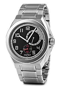 Esprit Herren-Armbanduhr Fine Craft Schwarz Silber ES101931004