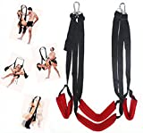 Moonight Fantasy 360 Degree Spinning Hanging Love Swing Fetish Adults Couples sex Swing Portable Adjustable Mobile Straps Romantic Fantasy series Pleasure Swing