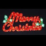 LED 2Dクリスタルモチーフライト メリークリスマス