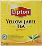 Lipton Yellow Label 100 Tea Bags (Pac...