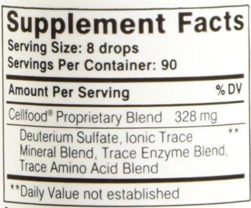 CellFood Liquid Minerals, Enzymes, Amino Acids, Electrolytes 1 fl.oz ...