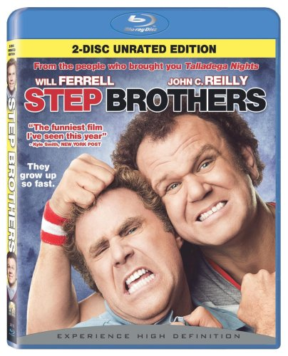 Cover art for  Step Brothers (2-Disc Unrated Edition) [Blu-ray]