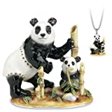 Hidden Treasures Trinket Box - 2010 Year Piece - Food For Thought - Giant Panda